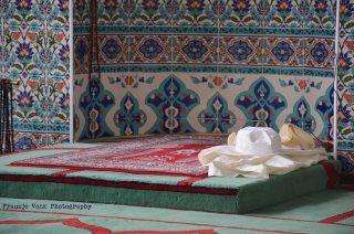 in de Turkse moskee